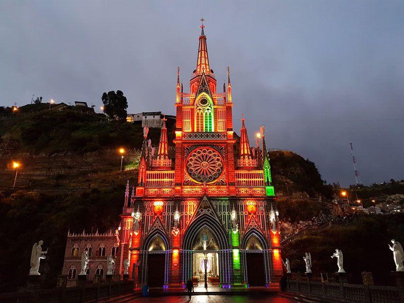 Santuario de Las Lajas - Nariño - Colombia