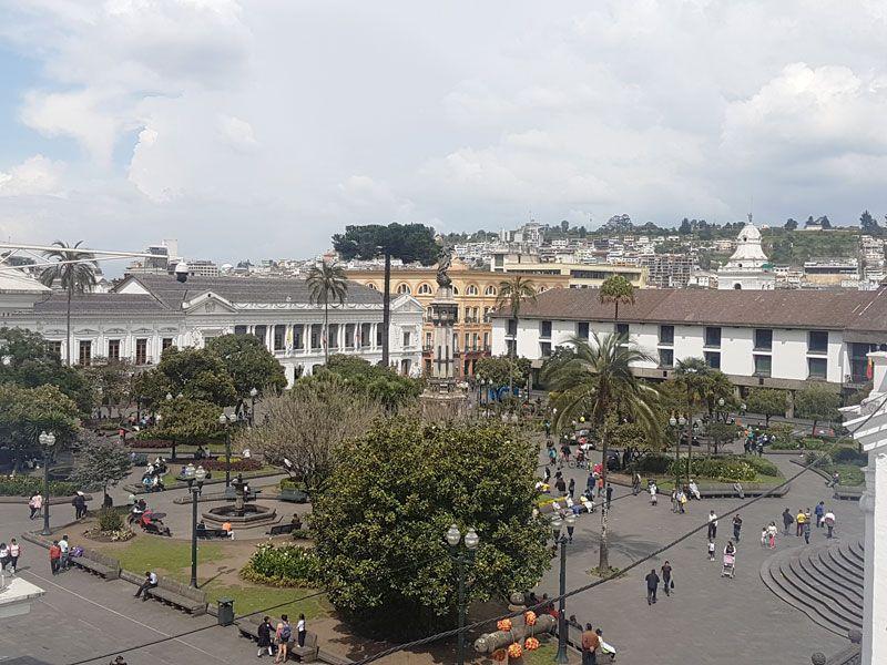 Plaza de Independencia - Quito - Ecuador