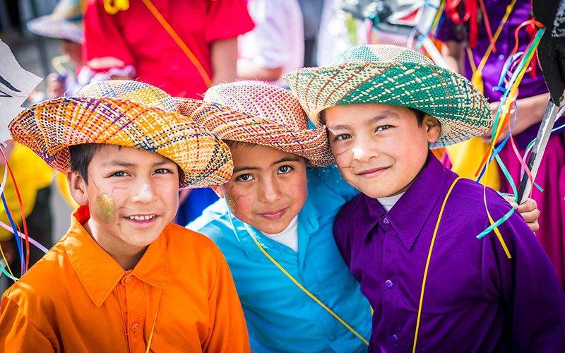 Carnavalito para niños en el Carnaval de Negros y Blancos