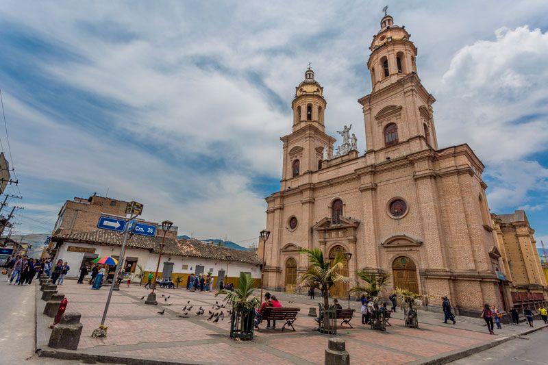 Catedral de la ciudad de Pasto