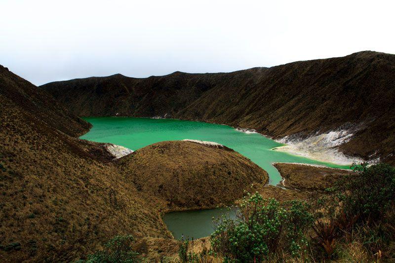 Laguna Verde - Volcán Azufral - Túquerres - Colombia