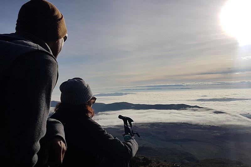 Cima del Volcán Cumbal